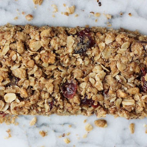 Chewy Cranberry Apple Maple Granola Bars