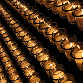 Candles by Rob King - Artistic Objects Other Objects ( lights, candles, night, fire,  )