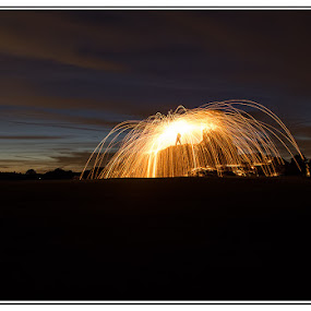 by Kev Bates - Abstract Light Painting