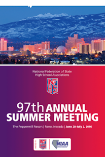 NFHS Summer Meeting 2016 - screenshot