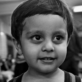 innocent presence by Arnab Bhattacharyya - Babies & Children Child Portraits