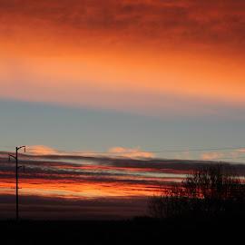 this mornings' sunrise by Irina Walker - Landscapes Sunsets & Sunrises