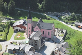 photo de Église paroissiale de Trient (S.P. N-D des Glaciers (Trient- Suisse))
