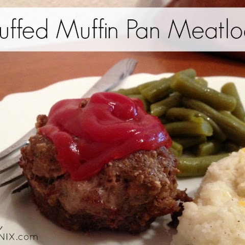Stuffed Muffin Pan Meatloaf