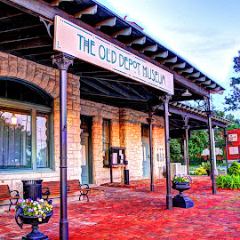 The Old Depot by Jackie Eatinger - Buildings & Architecture Public & Historical