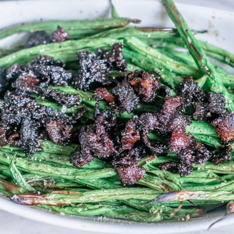 Grandma's Southern Green Beans with Candied Bacon