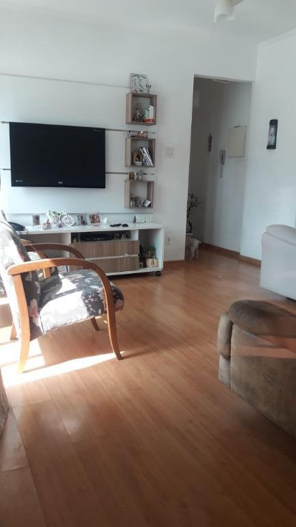 Apartamento com 2 dormitórios à venda, 100 m² por R$ 320.000 - Campo Grande - Santos/SP