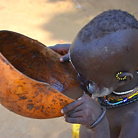 Access to Water. by Marcel Cintalan - Babies & Children Children Candids ( water, thirsty, drinkable, boy, ethiopia,  )