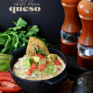 White Chili Bean Queso Dip