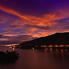 Senja Saga by Suwito Pomalingo - Landscapes Waterscapes ( #sentani, #indonesia, #papua )