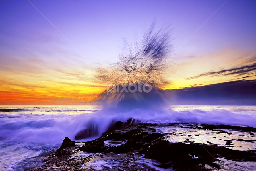 by Hendri Suhandi - Landscapes Waterscapes ( bali, waterscape, sunset, beach, sunrise, landscape )
