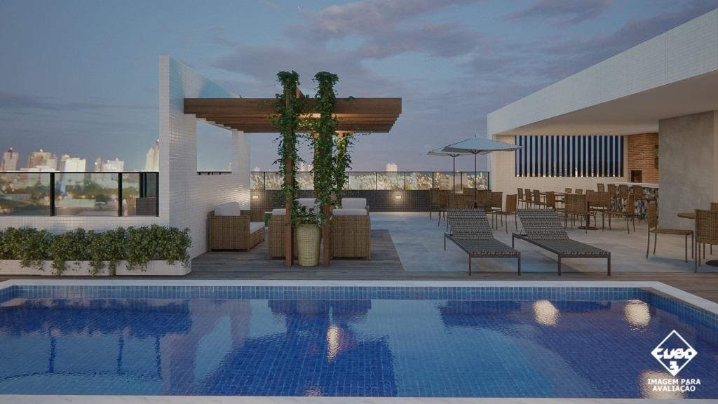Apartamento com 2 dormitórios à venda, 53 m² por R$ 169.900 - Cristo Redentor - João Pessoa/PB