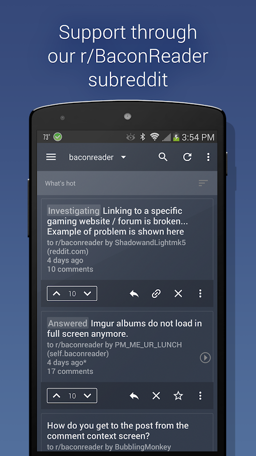 BaconReader Premium for Reddit Screenshot 4