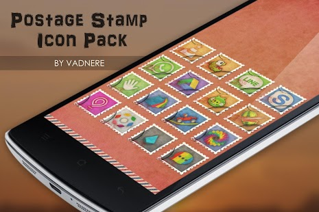 Postage Stamp TSF Shell Theme- screenshot thumbnail