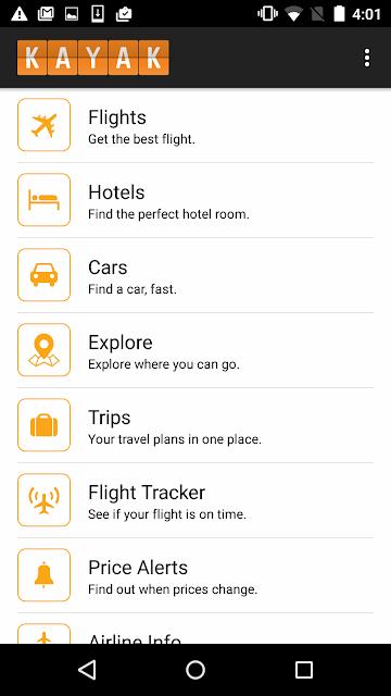 KAYAK Flights, Hotels & Cars screenshots