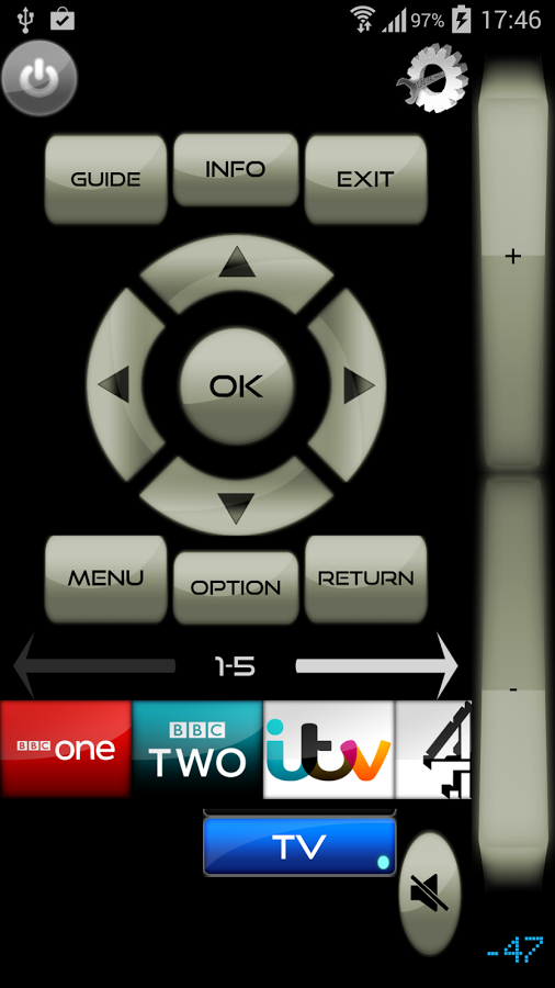 Wi-Fi TV Remote Samsung Screenshot 0