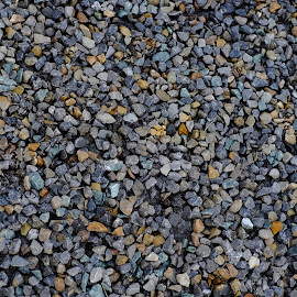 Rocks on the Road Side by Khawaja Hamza - Abstract Patterns ( abstract, detail, pattern, after rain, rocks )