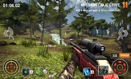 Game Hunting Safari 3D apk for kindle fire