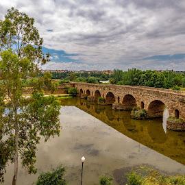 puente romano, Merida, Badajoz by Roberto Gonzalo - Buildings & Architecture Bridges & Suspended Structures ( puente, romano, roman, mérida, bridge, badajoz )
