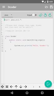 App Dcoder, Mobile Compiler IDE : Now code on Mobile APK for Kindle