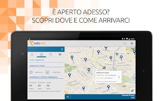 Screenshot of TuttoCittà MAP