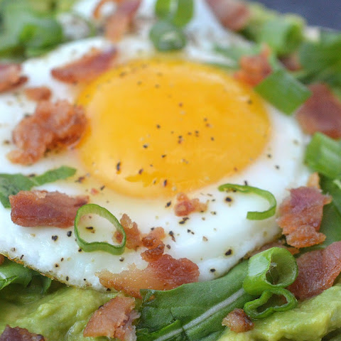 Avocado Breakfast Pizza
