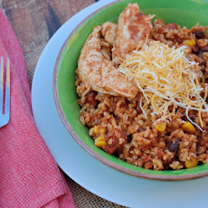 One-Dish Southwestern Chicken and Rice
