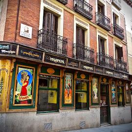 Madrid by Michael Villecco - City,  Street & Park  Street Scenes (  )