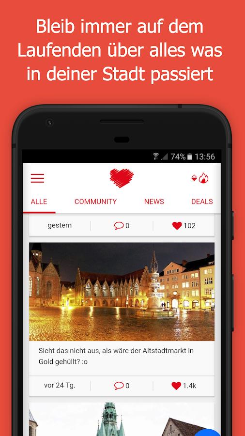Wir lieben unsere Stadt android apps download