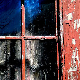 Broken window 1 by Martin Stepalavich - Artistic Objects Still Life