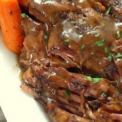 Slow Cooker Pot Roast That Melts In Your Mouth