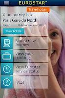 Screenshot of Eurostar Trains