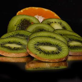 kiwi with orange by LADOCKi Elvira - Food & Drink Fruits & Vegetables