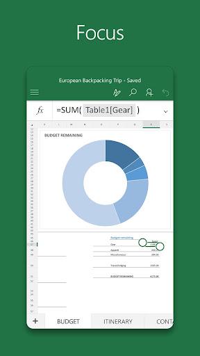 Microsoft Excel screenshot 3