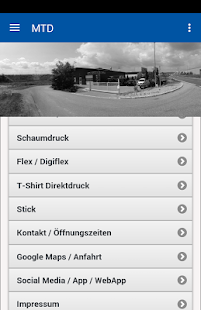 Meller Textildruck GmbH - screenshot