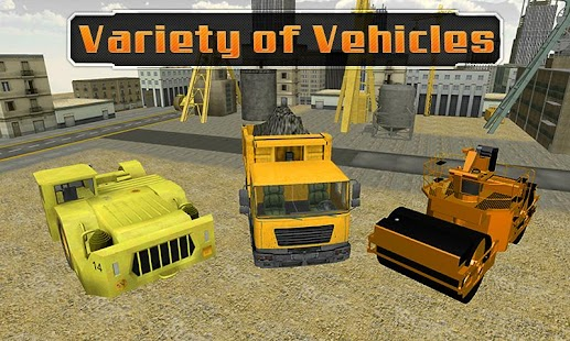 Road Builder Construction Sim