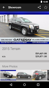 Gateway Buick GMC DealerApp - screenshot