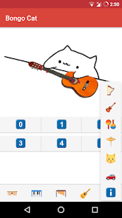 Bongo Cat - Musical Instruments