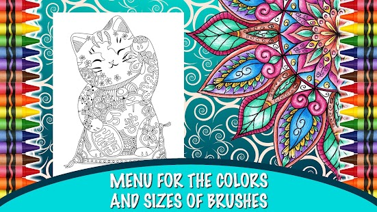 Game coloring book for adults apk for kindle fire Coloring book for adults apk