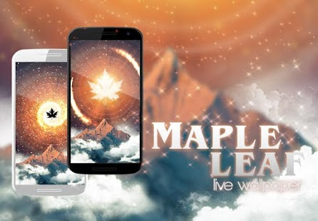 Maple Leaf Live Wallpaper - screenshot