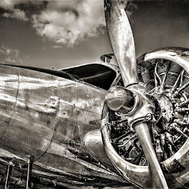 Old School by DE Grabenstein - Transportation Airplanes
