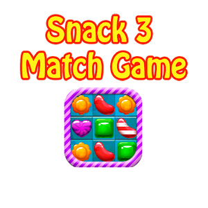Cover art Snack 3 Match Game