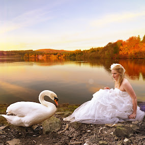 Birds of a feather by Natalie Houlding - Wedding Bride ( houlding, wedding, photographer, natalie )