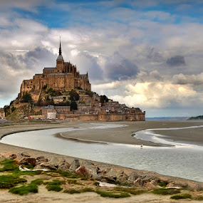 Le Mont oh la la by Boris Jakesevic - Travel Locations Landmarks ( nature, france, architecture, travel, landscape, mont st michel )