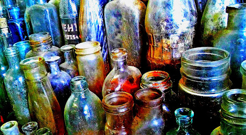 bottle collection by Martin Stepalavich - Artistic Objects Glass (  )