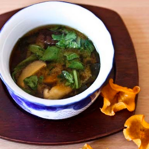 Smoky, Soul Satisfying Miso Soup