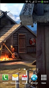 Vikings 3D LWP- screenshot thumbnail