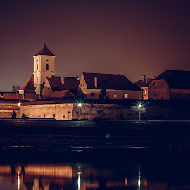 Tvrđa by Zoran Osijek - City,  Street & Park  Historic Districts ( tvrđa, osijek, croatia, night )
