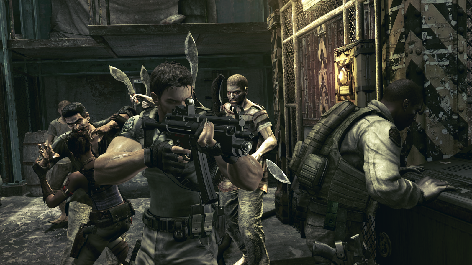 Resident Evil 5 for SHIELD TV Screenshot 0