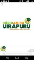 Screenshot of Rádio Uirapuru